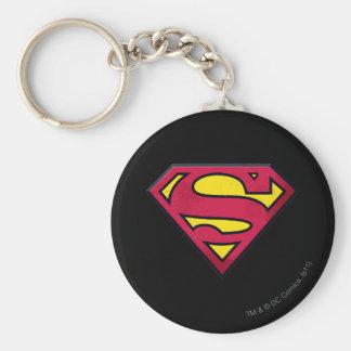 Superman S-Shield   Dirt Logo Keychain