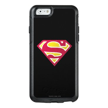 Superman S-Shield   Distressed Dots Logo OtterBox iPhone 6/6s Case