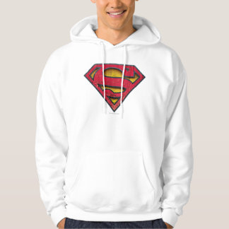 Superman S-Shield | Distressed Logo Hoodie