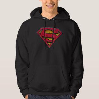 Superman S-Shield | Distressed Logo Hoody