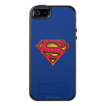 Superman S-Shield | Distressed Logo OtterBox iPhone 5/5s/SE Case