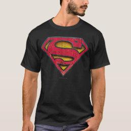 Superman S-Shield | Distressed Logo T-Shirt