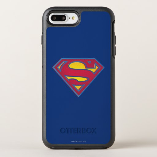 Superman S-Shield | Dot Logo OtterBox Symmetry iPhone 8 Plus/7 Plus Case