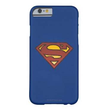 Superman S-Shield   Faded Dots Logo Barely There iPhone 6 Case