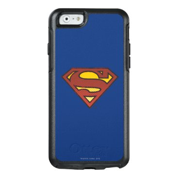 Superman S-Shield   Faded Dots Logo OtterBox iPhone 6/6s Case