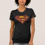 Superman S-Shield   Faded Dots Logo T-Shirt