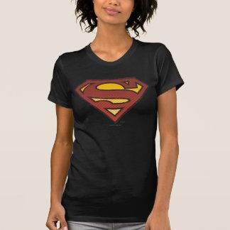 Superman S-Shield | Faded Dots Logo T-Shirt