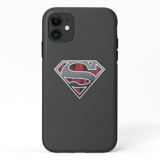 Superman S-Shield | Grey and Red City Logo iPhone 11 Case