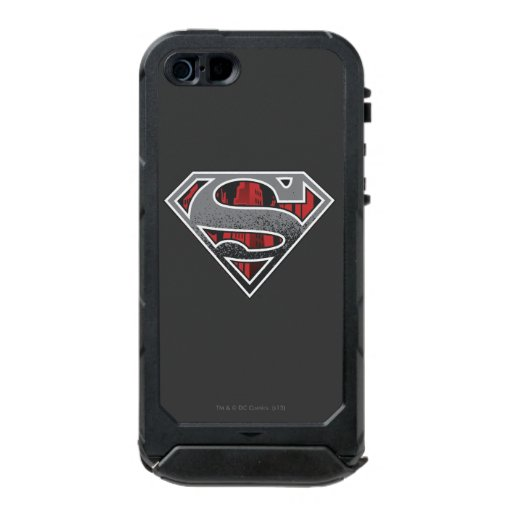 Superman S-Shield | Grey and Red City Logo Waterproof iPhone SE/5/5s Case