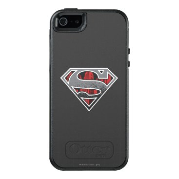 Superman S-Shield | Grey and Red City Logo OtterBox iPhone 5/5s/SE Case