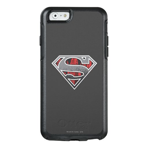 Superman S-Shield | Grey and Red City Logo OtterBox iPhone 6/6s Case