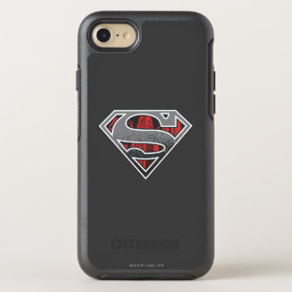 Superman S-Shield | Grey and Red City Logo OtterBox Symmetry iPhone 7 Case