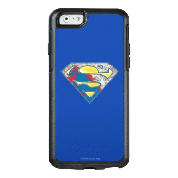 Superman S-Shield | Grey Yellow Red Black Mix Logo OtterBox iPhone 6/6s Case