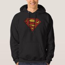 Superman S-Shield | Grunge Logo Hoodie