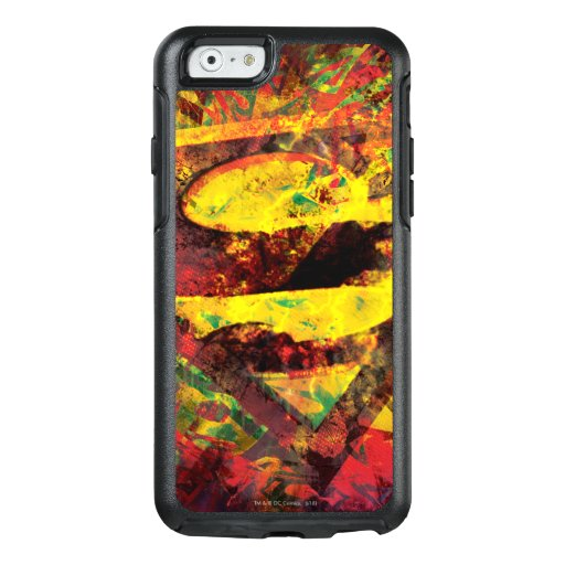 Superman S-Shield | Grunge Logo OtterBox iPhone 6/6s Case