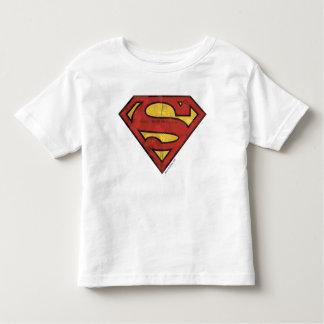 Superman S-Shield | Grunge Logo Toddler T-shirt