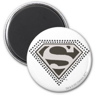 Superman S-Shield | It's Showtime! Logo 2 Inch Round Magnet