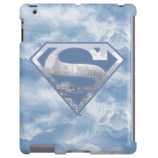 Superman S-Shield | Light Blue City Logo