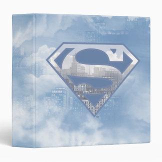 Superman S-Shield | Light Blue City Logo Binder