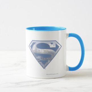Superman S-Shield | Light Blue City Logo Mug