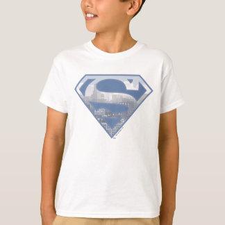 Superman S-Shield | Light Blue City Logo T-Shirt