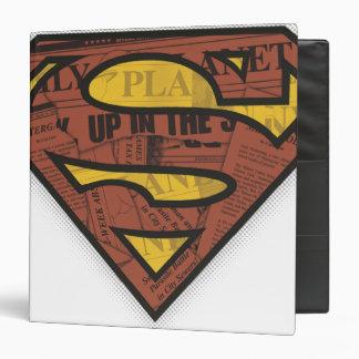 Superman S-Shield | Newspaper Logo Binder