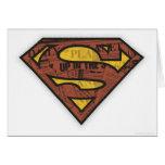 Superman S-Shield | Newspaper Logo Card
