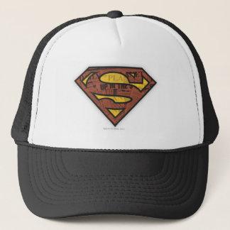 Superman S-Shield   Newspaper Logo Trucker Hat