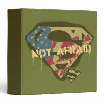 Superman S-Shield | Not Afraid Logo Binder