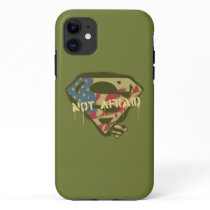 Superman S-Shield | Not Afraid Logo iPhone 11 Case