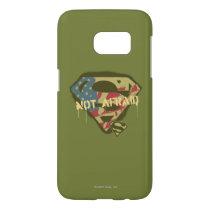 Superman S-Shield | Not Afraid Logo Samsung Galaxy S7 Case