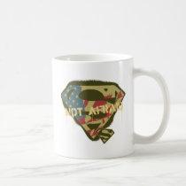 Superman S-Shield | Not Afraid Logo Coffee Mug