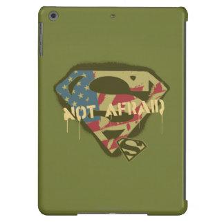 Superman S-Shield | Not Afraid Logo Cover For iPad Air