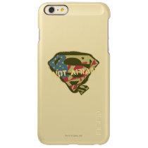 Superman S-Shield | Not Afraid Logo Incipio Feather Shine iPhone 6 Plus Case
