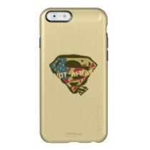 Superman S-Shield | Not Afraid Logo Incipio Feather Shine iPhone 6 Case