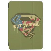 Superman S-Shield | Not Afraid Logo iPad Air Cover