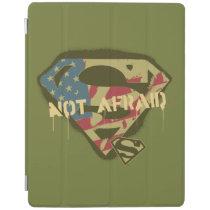 Superman S-Shield | Not Afraid Logo iPad Smart Cover