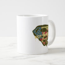 Superman S-Shield | Not Afraid Logo Large Coffee Mug