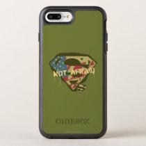 Superman S-Shield | Not Afraid Logo OtterBox Symmetry iPhone 8 Plus/7 Plus Case