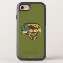 Superman S-Shield | Not Afraid Logo OtterBox Symmetry iPhone SE/8/7 Case