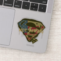 Superman S-Shield | Not Afraid Logo Sticker