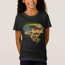 Superman S-Shield | Not Afraid Logo T-Shirt
