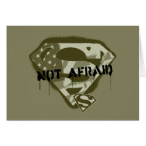 Superman S-Shield | Not Afraid - US Camo Logo
