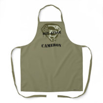 Superman S-Shield | Not Afraid - US Camo Logo Apron