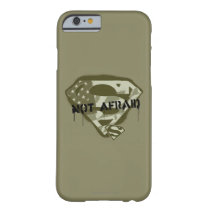 Superman S-Shield | Not Afraid - US Camo Logo Barely There iPhone 6 Case