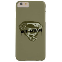 Superman S-Shield | Not Afraid - US Camo Logo Barely There iPhone 6 Plus Case