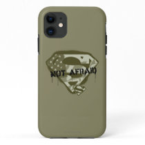 Superman S-Shield | Not Afraid - US Camo Logo iPhone 11 Case