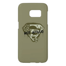 Superman S-Shield | Not Afraid - US Camo Logo Samsung Galaxy S7 Case