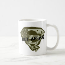 Superman S-Shield | Not Afraid - US Camo Logo Coffee Mug