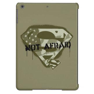 Superman S-Shield | Not Afraid - US Camo Logo Cover For iPad Air